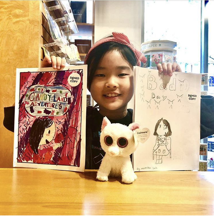 Little Girls Doing Big Things: Matilda Suh, Writer & Illustrator